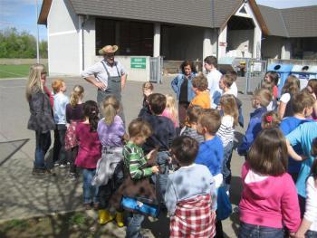 Eröffnung des Schulgartens 2012