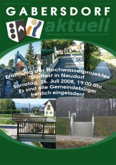 Gemeindenachrichten Juli 2008