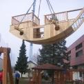 Schiffslieferung im Kindergarten