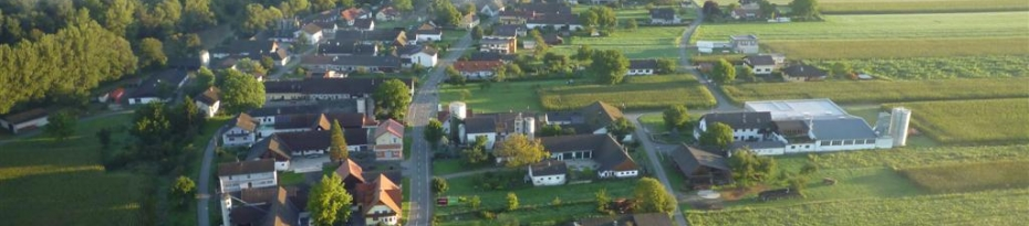 Gabersdorf von Oben